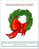 Christmas Math - Even or Odd?