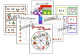 Christmas Math - FRENCH