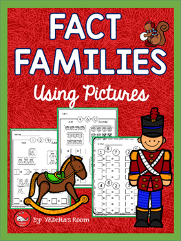 Christmas Math {Fact Families Using Pictures}