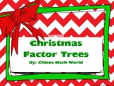 Christmas Math - Factor Trees