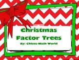 Christmas Math - Factor Trees