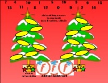 Christmas Math Facts-Race to the Top - SmartBoard 11.4-Windows OS