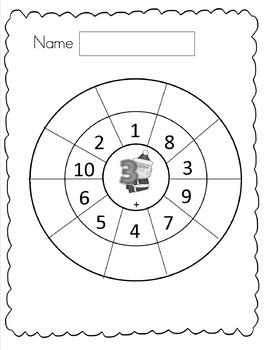 Christmas Math Facts Activity Pack