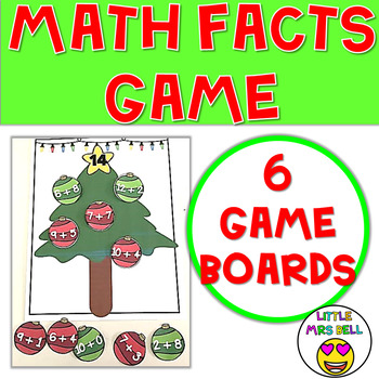 Math Facts Game Christmas