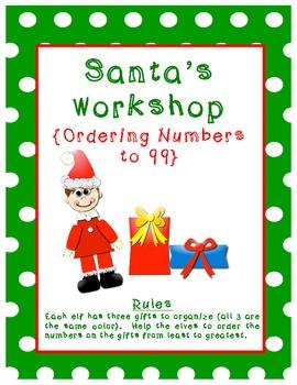 Christmas Math File Folder Games