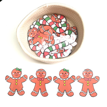 Christmas Math Find the Pattern Puzzles and Spot the Difference
