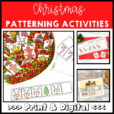 Christmas Math Find the Pattern Puzzles