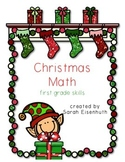 Christmas Math - First Grade Skills