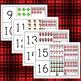 Christmas Math Flip Book Numbers 1-20 Ten Frames Book or Center Activity