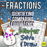Winter Math Fractions