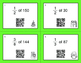 Christmas Math: Fractions of a Set QR Code Task Cards