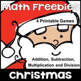Free Christmas Activities: Christmas Math Games