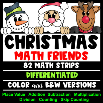 Christmas Math Activities: Christmas Place Value and Number Friends