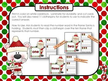 Christmas Math Fun! (13 math center activities)