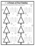 Winter Math Game Fact Families Math Winter Math 2nd Winter