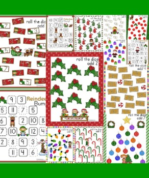 Christmas Math Games - 33 Games in All!