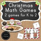 Christmas Math Games Bundle 2 Games 6 Skills