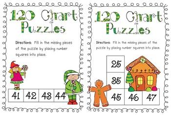 Christmas Math Games (Common Core)
