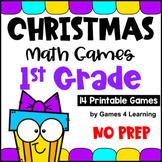 Christmas Math Games First Grade