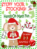 Christmas Math Games For Grades 1-3