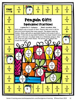 Christmas Math Games Fourth Grade: Fun Christmas Activities