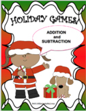 Free Downloads Christmas Math Games! Addition and Subtract