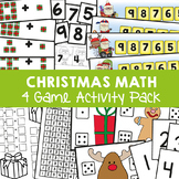 Christmas Math in Kindergarten - Christmas Math Games {Num