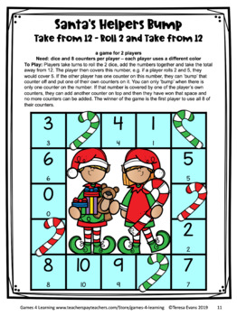Christmas Math Games Second Grade: Fun Christmas Activities for Math