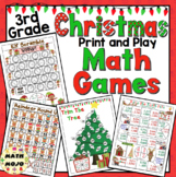Christmas Math Games - 3rd Grade