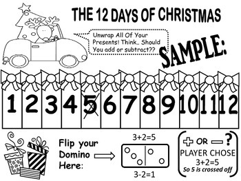 Christmas Math Games and Literacy Fun