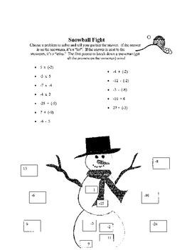 Christmas Math Games (bundle)
