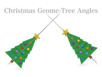 Christmas Math Geometry: Christmas Geome-Tree Angles