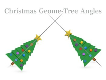 Christmas Math Geometry: Christmas Geome-Tree Angles