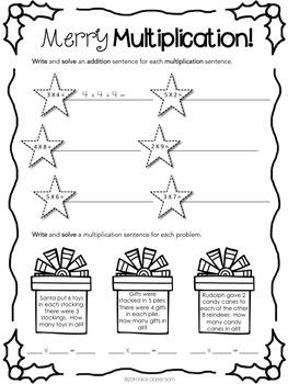 3rd Grade Christmas Math: 3rd Grade Christmas Activities