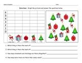 Christmas Math Graphing Morning Work Worksheet Homework