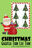 Christmas Math - Greater Than Less Than