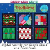 Christmas Math Holiday Tessellations Digital Craft Activity