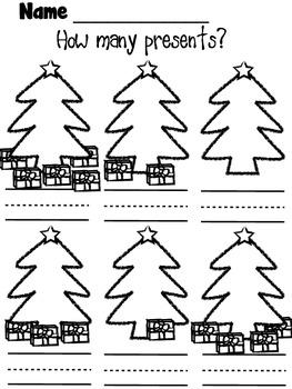 Christmas Math Homework