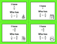 Christmas Math: I Have, Who Has - Adding Like Fractions