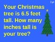 Christmas Math Jeopardy #1 with Handouts for Review