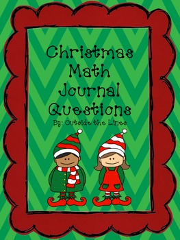 Christmas Math Journal - 1st grade
