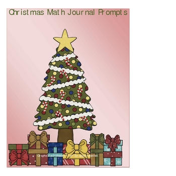 Christmas Math Journal Prompts