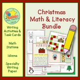 Christmas Activities Math and Literacy Bundle