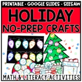 Christmas Math & Literacy Crafts & Activities