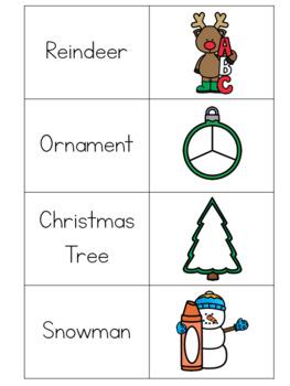 Christmas Math, Literacy & Logic Learning Pack