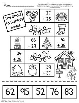 Christmas Math & Literacy Pack {Print and Go}