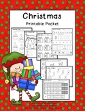 Christmas Math & Literacy {PRINT IT NOW!}