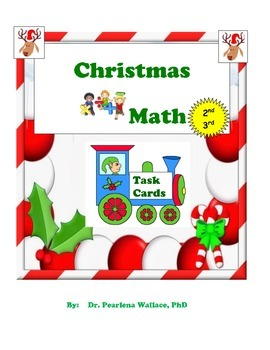 Winter Math (Christmas) : Fractions, Place Value, Word Pro