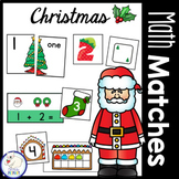Christmas Math Centers: Numbers 1-20