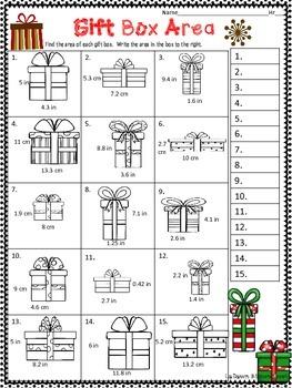 Christmas Math Medley